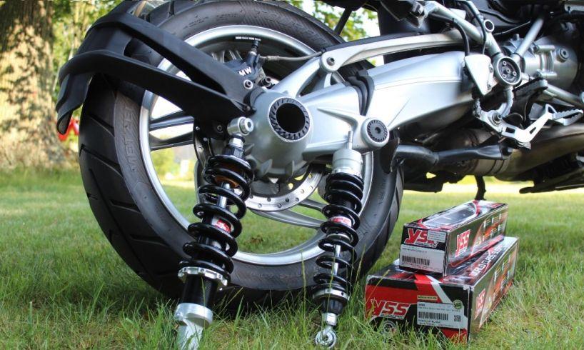 Kanon Bakre stötdämpare för motorcyklar, mopeder och ATV LC-67